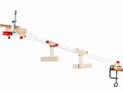 4 3 2 Mini Seilbahn Mit Zwei Wagen Spielzeug Kraul