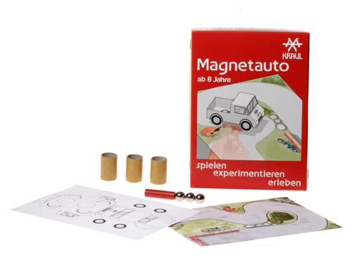 experimentieren spielen erleben: Magnetauto für Kinder ab 8 Jahre