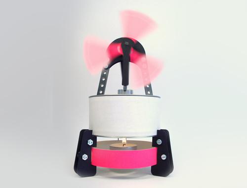 Stirling Motor von Exergia für Ingenieure und Bastler ab 14 Jahre