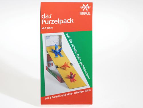 Das Purzelpack gibt drei Purzelzwergen richtig Schwung zum Purzeln