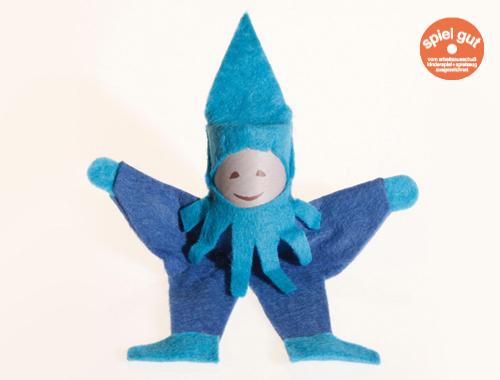 Der blaue Purzelzwerg von Spielzeug Kraul purzeltDer blaue Purzelzwerg von Spielzeug Kraul purzelt