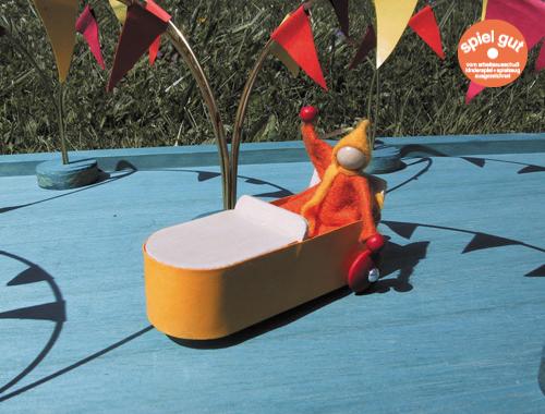 Wendolin von Spielzeug Kraul ist ein Bausatz für Kinder