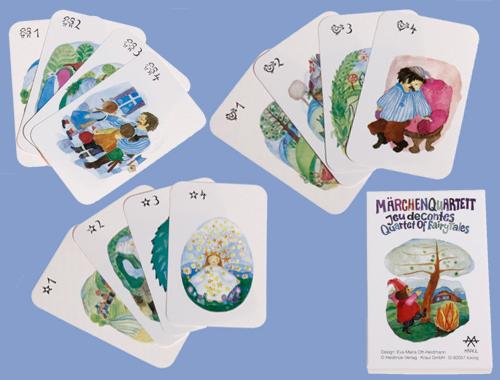 Märchenquartett ist liebevoll schön gestaltet für Kinder ab 5 Jahren
